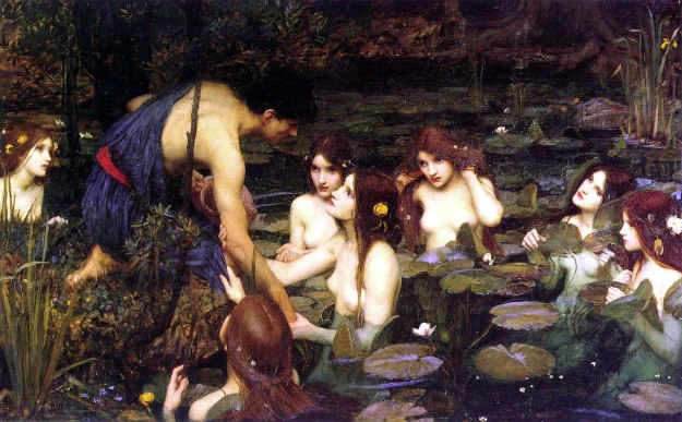 John Williams Waterhouse----Hylas And The Nymphs